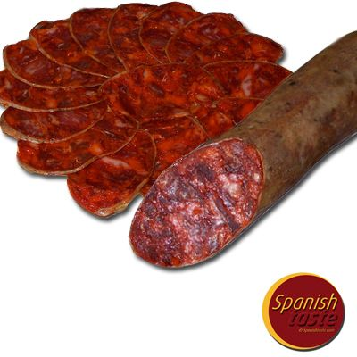 Chorizo iberico Bellota 500gr A. Romero