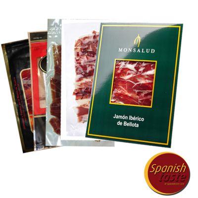 5 x 100gr of  different iberico ham brands
